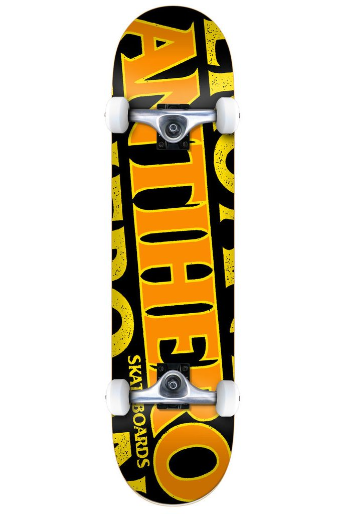 "Anti-Hero Skate 8"" BLACKHERO LG Black"