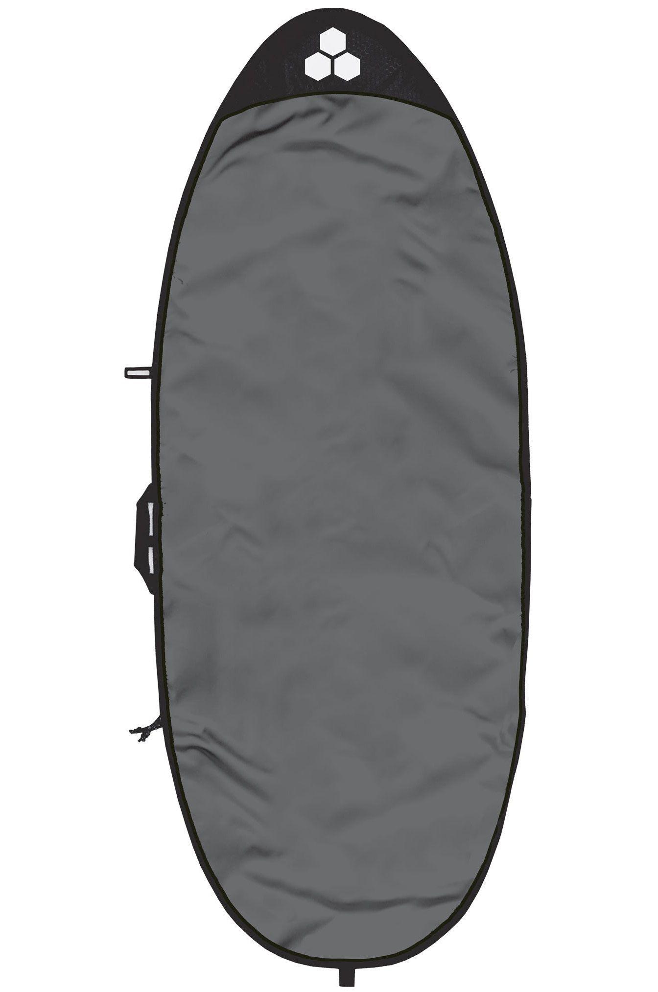 Al Merrick Boardbag 5'8 FEATHER LITE SPECIALTY BAG Charcoal