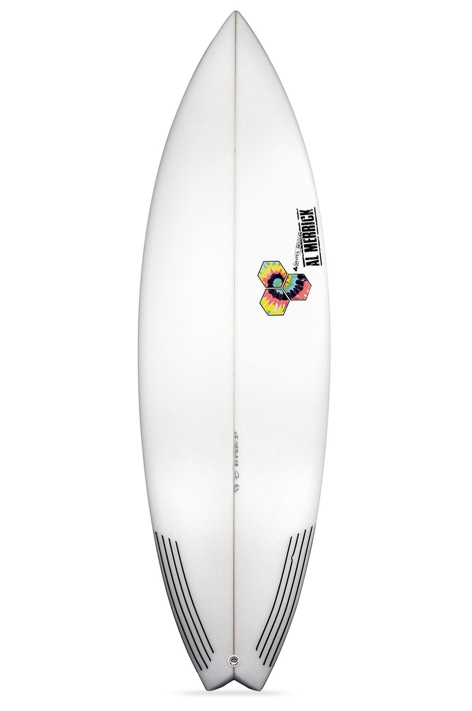Prancha Surf Al Merrick ROCKET 9 5'9 Swallow Tail - White FCS II 5ft9