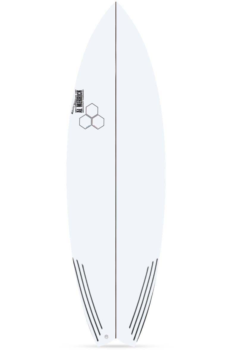 Prancha Surf Al Merrick ROCKET WIDE Fish Tail - White
