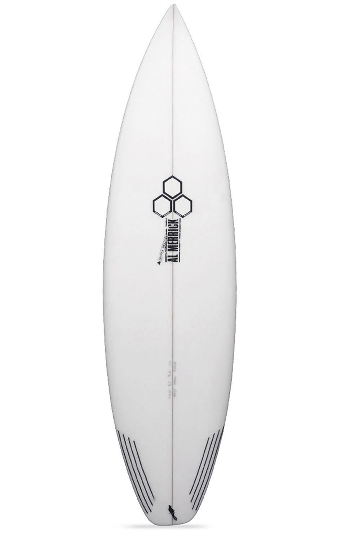 Prancha Surf Al Merrick 5'8 FEVER Squash Tail - White FCS II 5ft8