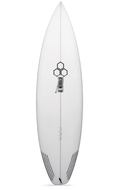 Prancha Surf Al Merrick 5'9 FEVER Squash Tail - White FCS II 5ft9