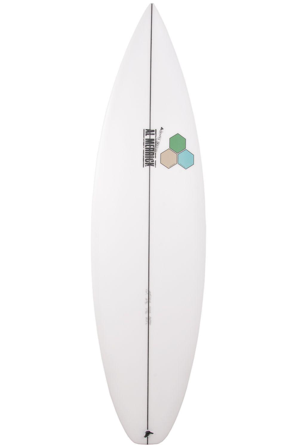 Prancha Surf Al Merrick PROTON Squash Tail - White