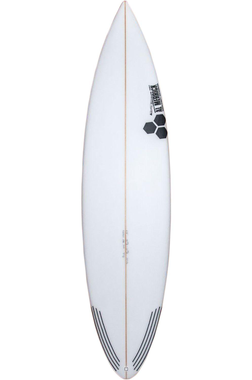 Prancha Surf Al Merrick 6'3 TACO GRINDER Round Pin Tail - White FCS II 6ft3