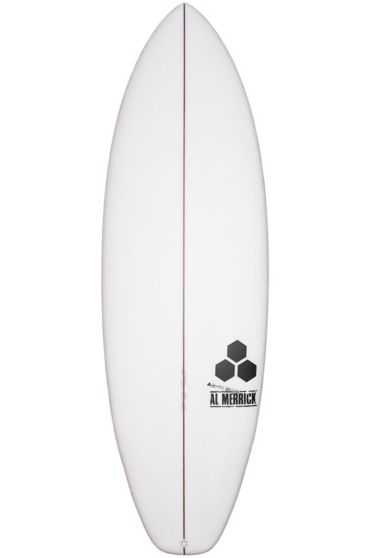 Prancha Surf Al Merrick 5'5 ULTRA JOE Squash Tail - White FCS II 5ft5