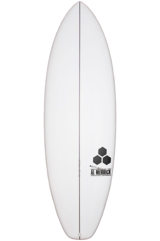 Prancha Surf Al Merrick 5'7 ULTRA JOE Squash Tail - White FCS II 5ft7
