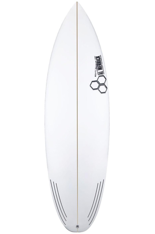 Prancha Surf Al Merrick 5'4 NECKBEARD 3 Round Squash Tail - White FCS II 5ft4