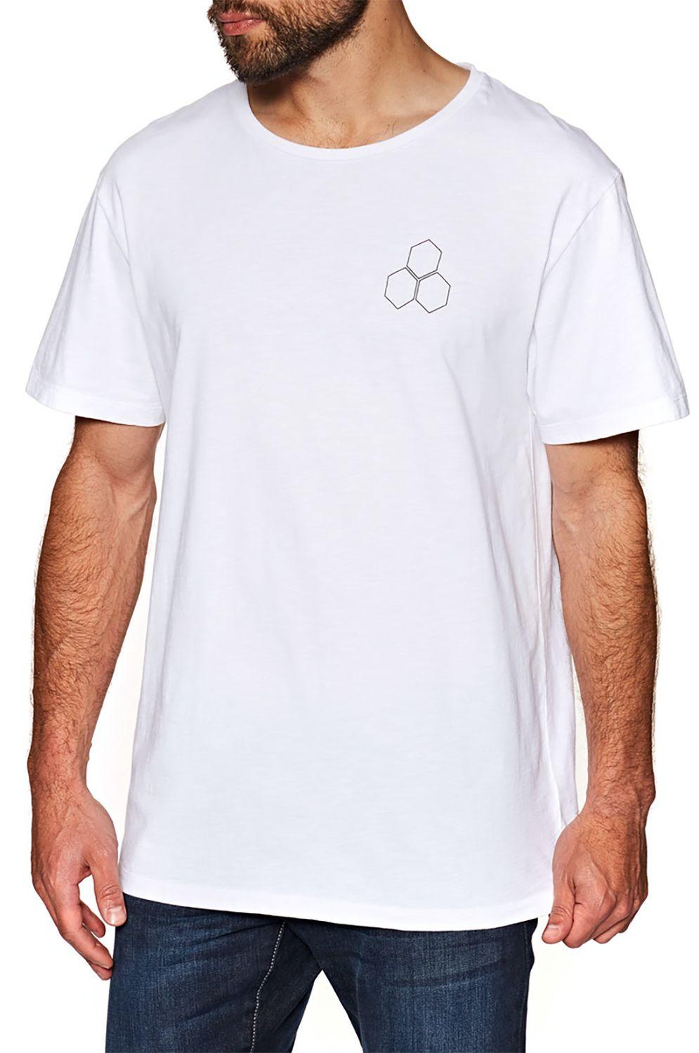 Al Merrick T-Shirt SHAPES DESIGN White