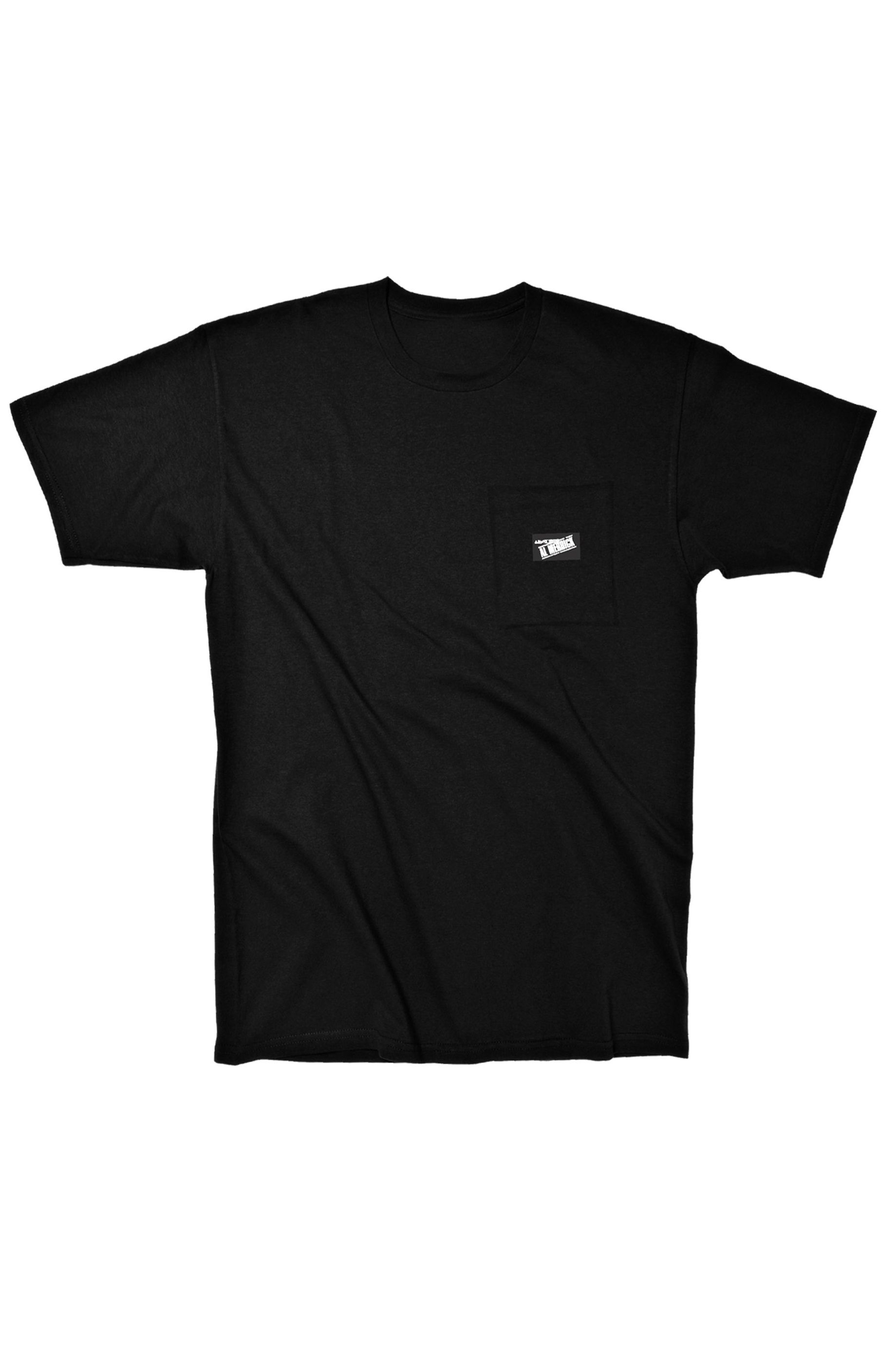 Al Merrick T-Shirt AL POCKET TEE SS True Black