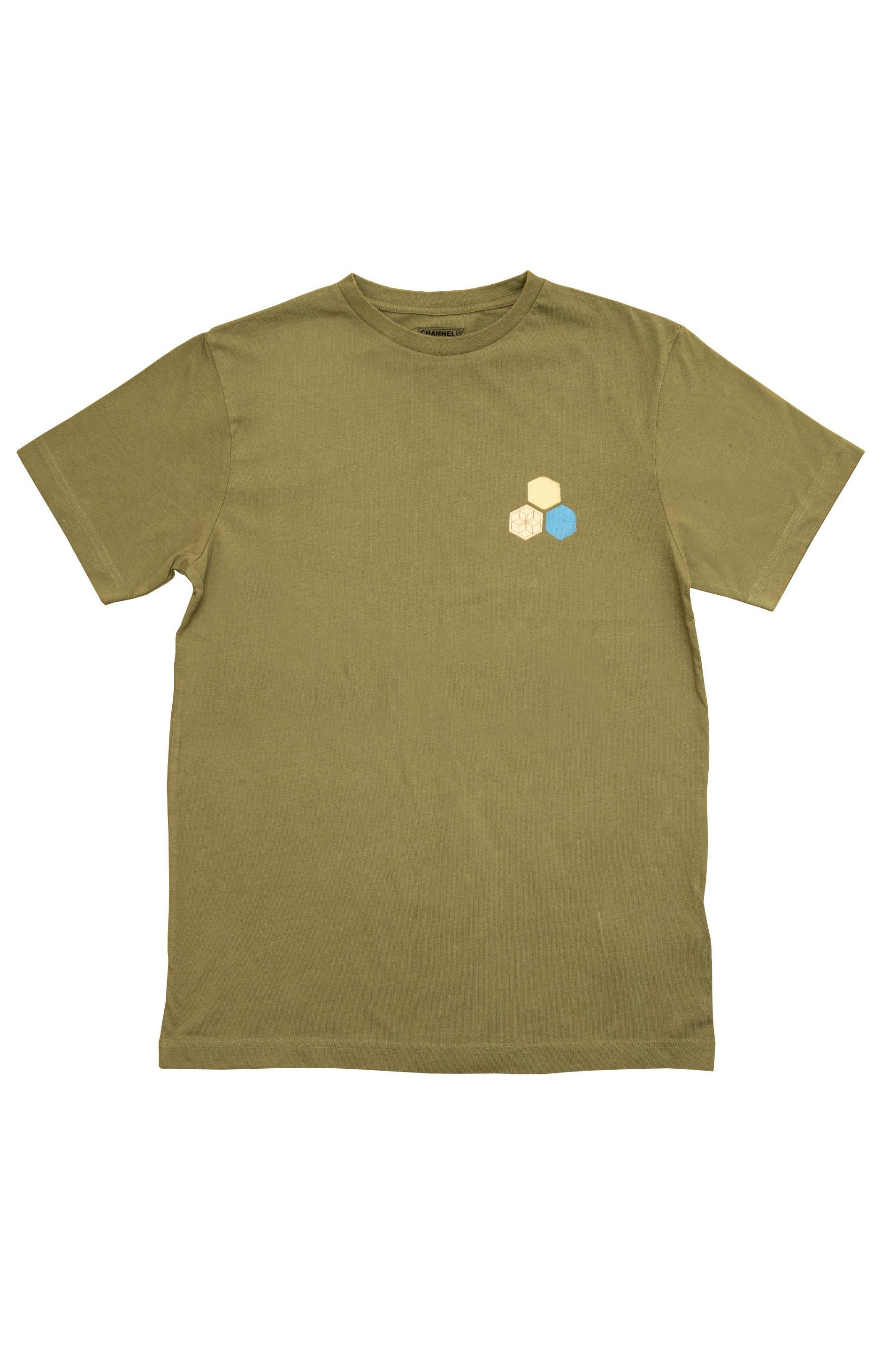 T-Shirt Al Merrick PASTEL SS Martini Olive