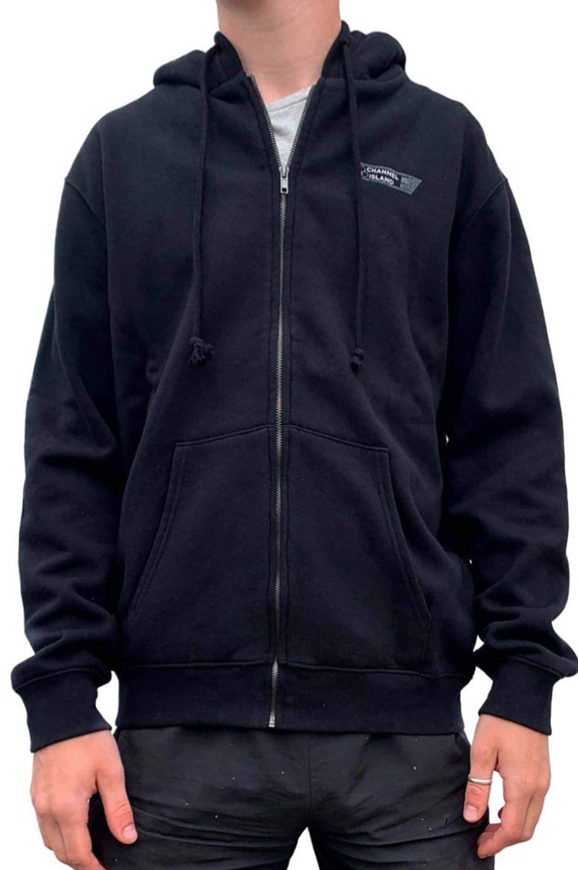 Al Merrick Sweat Zip Hood CI USA Black