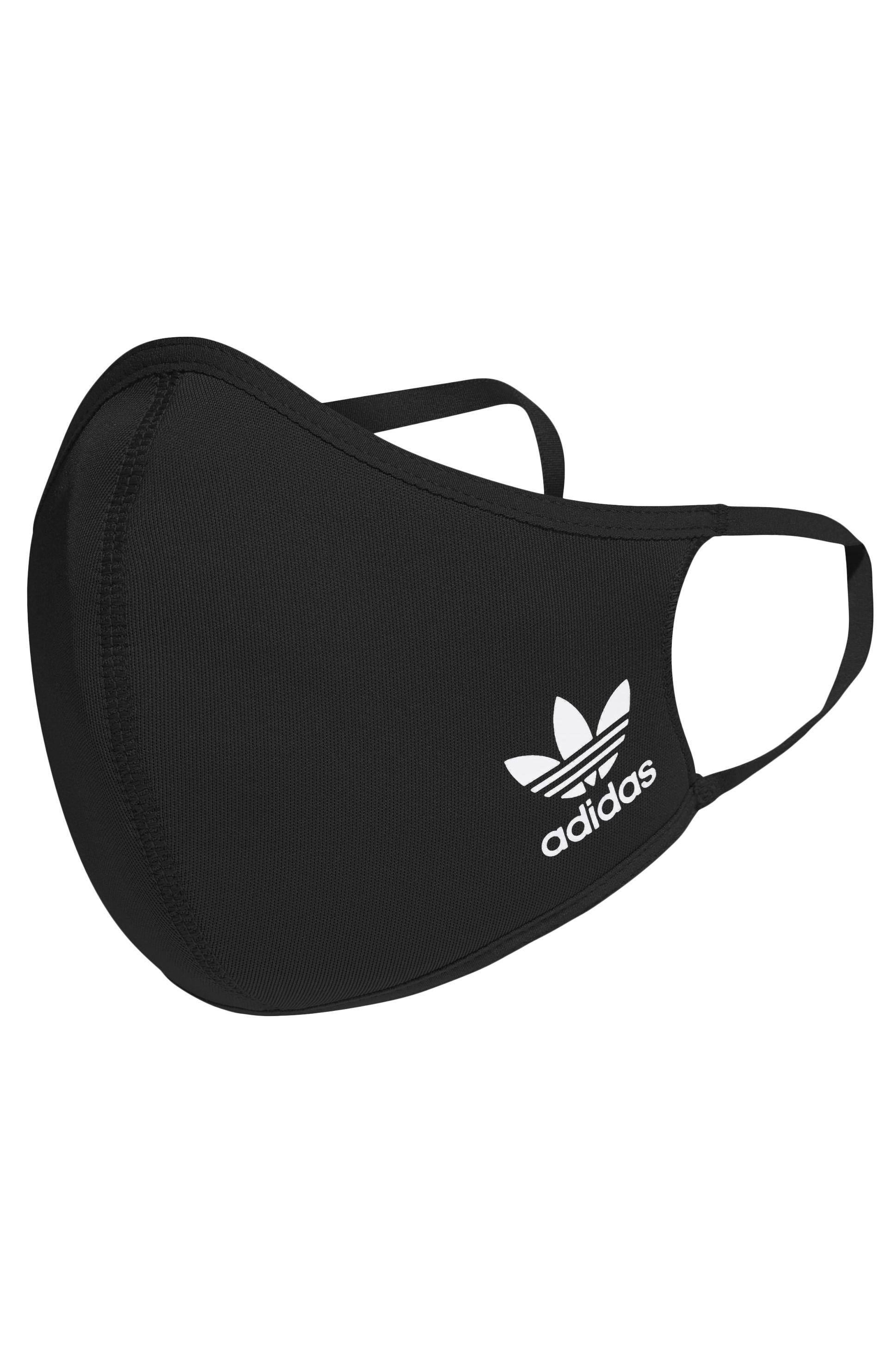 DV Adidas Máscara BOS SMALL 3PK Black