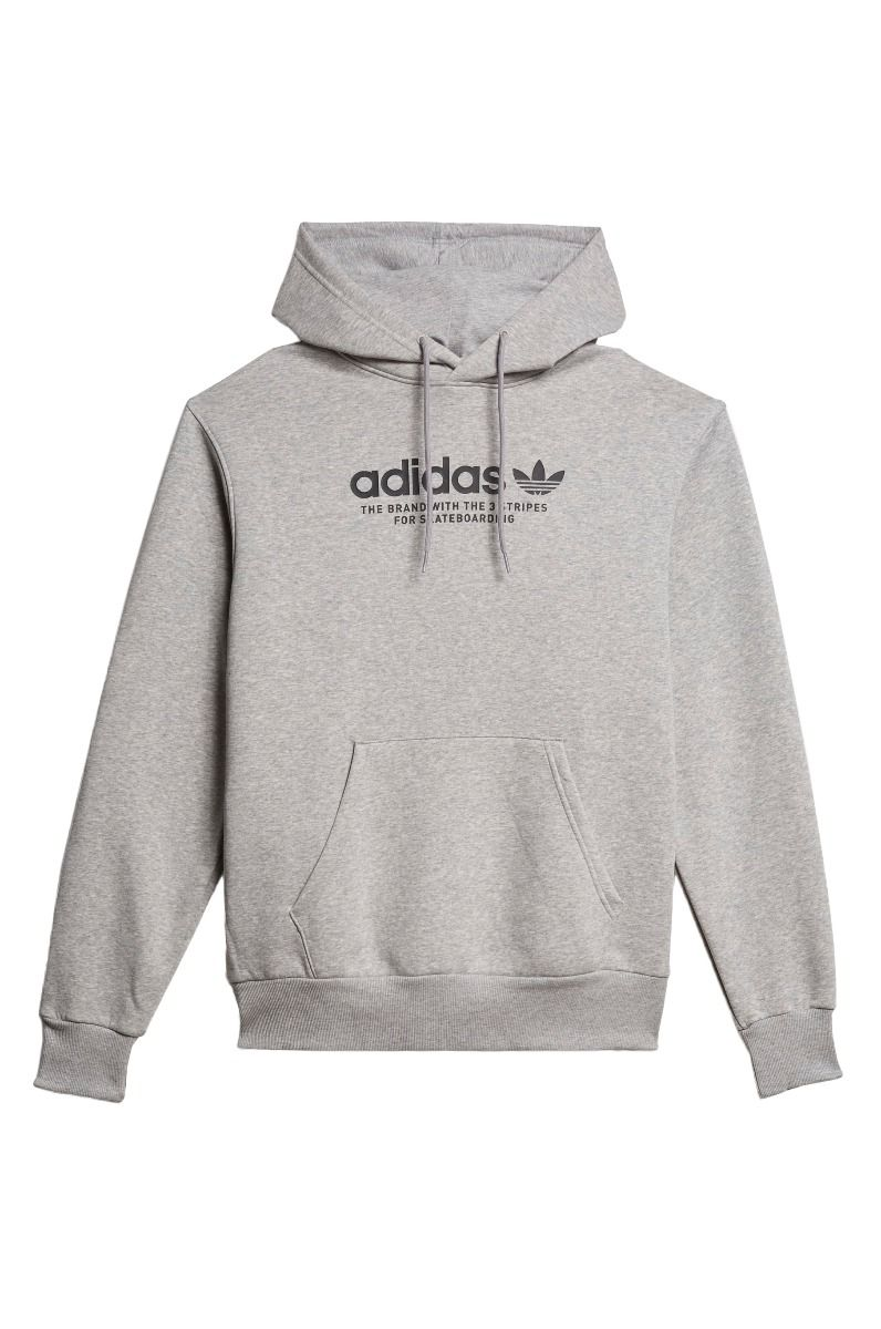 Sweat Capuz Adidas 4.0 LOGO HOODIE Medium Grey Heather