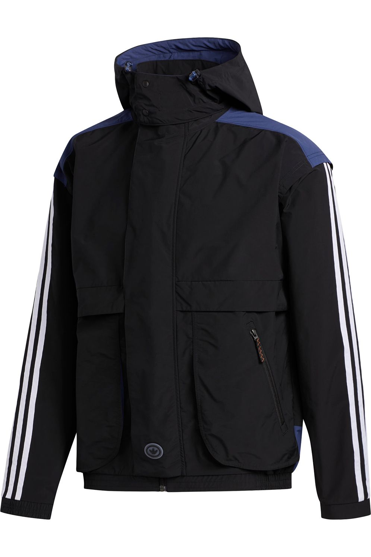 Blusăo Adidas BLCKROCK Black/Tech Indigo