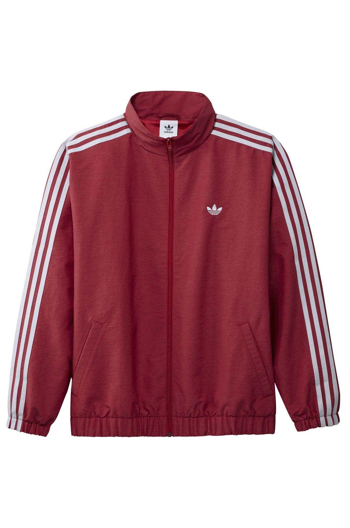 Adidas Coat FIREBIRD TRACK JACKET Team Victory Red/Dash Grey