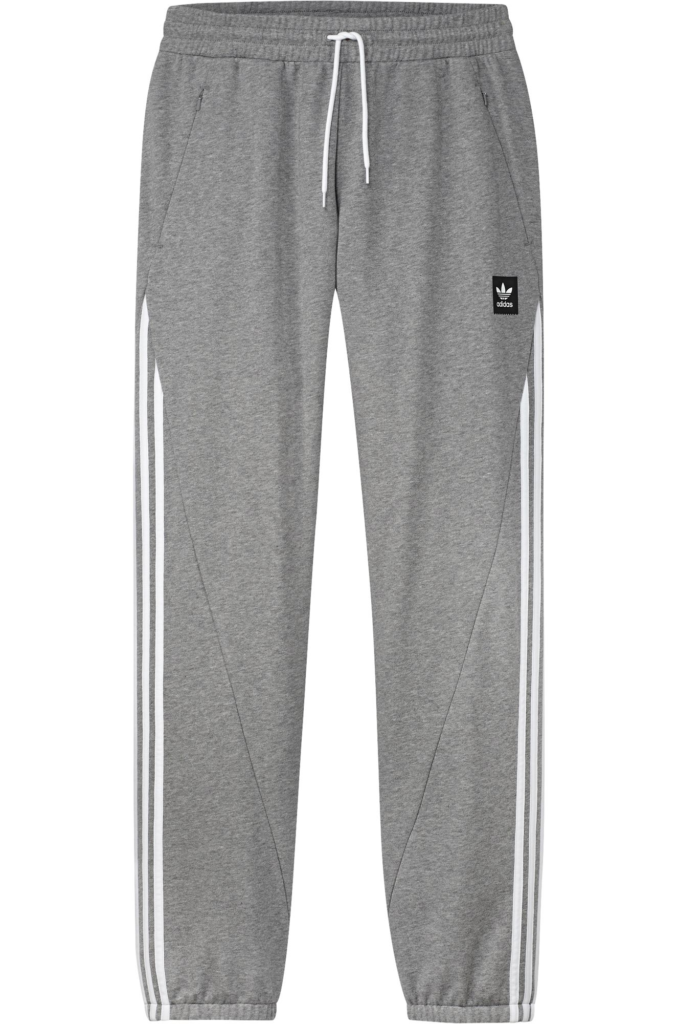 Calças Adidas INSLEY Medium Grey Heather/White
