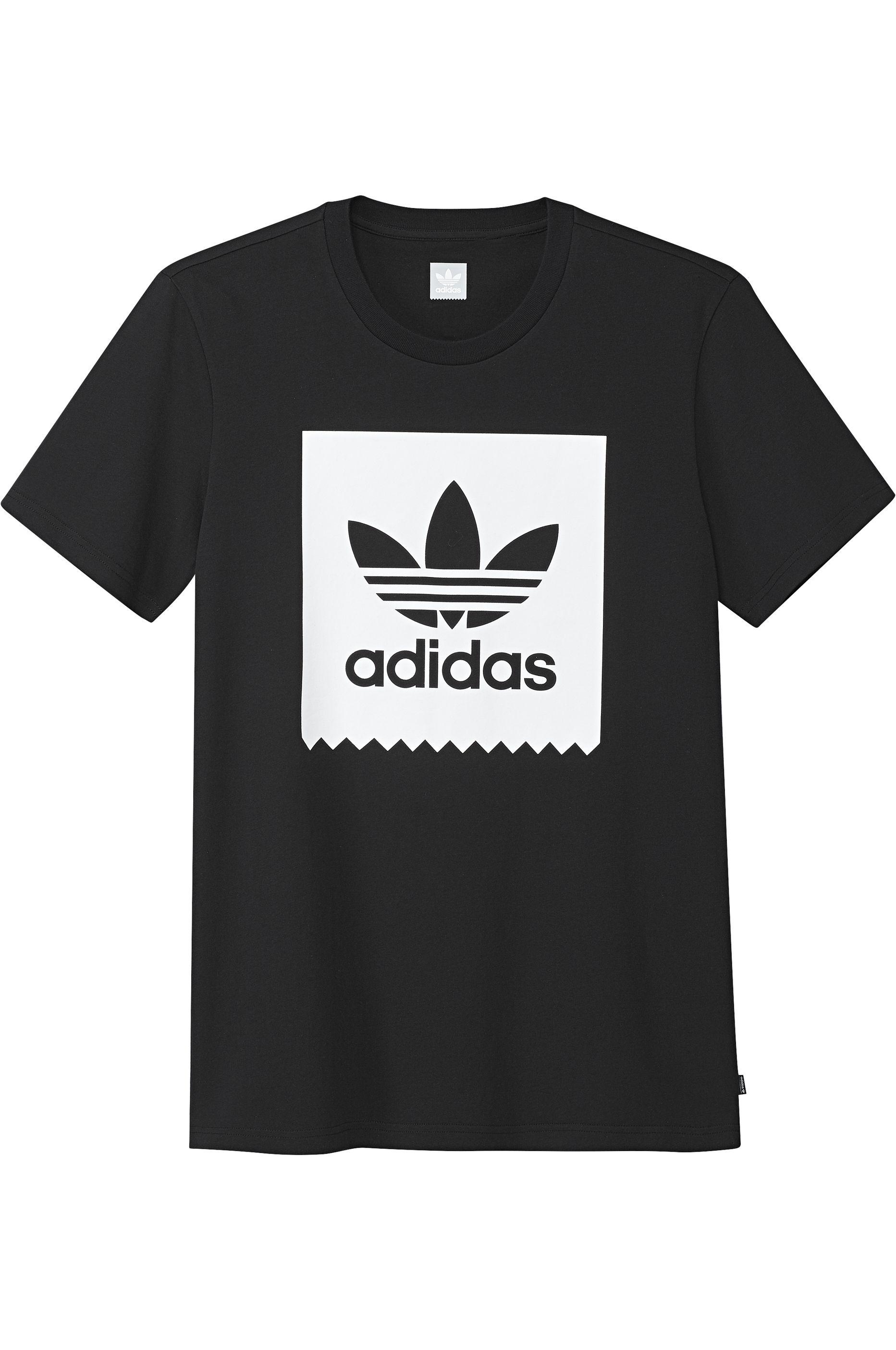T-Shirt Adidas SOLID BB Black/White