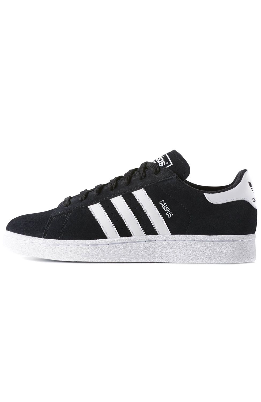 Tenis Adidas CAMPUS Core Black/Ftwr White/Chalk White