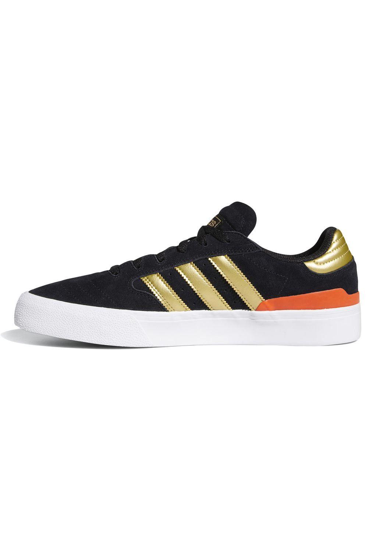 Tenis Adidas BUSENITZ VULC II Core Black/Gold Met./Solar Red