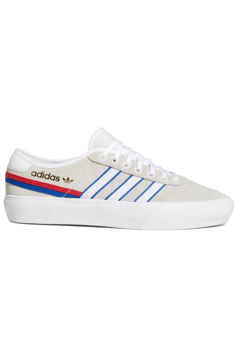 Adidas Shoes DELPALA Crystal White/Ftwr White/Team Royal Blue
