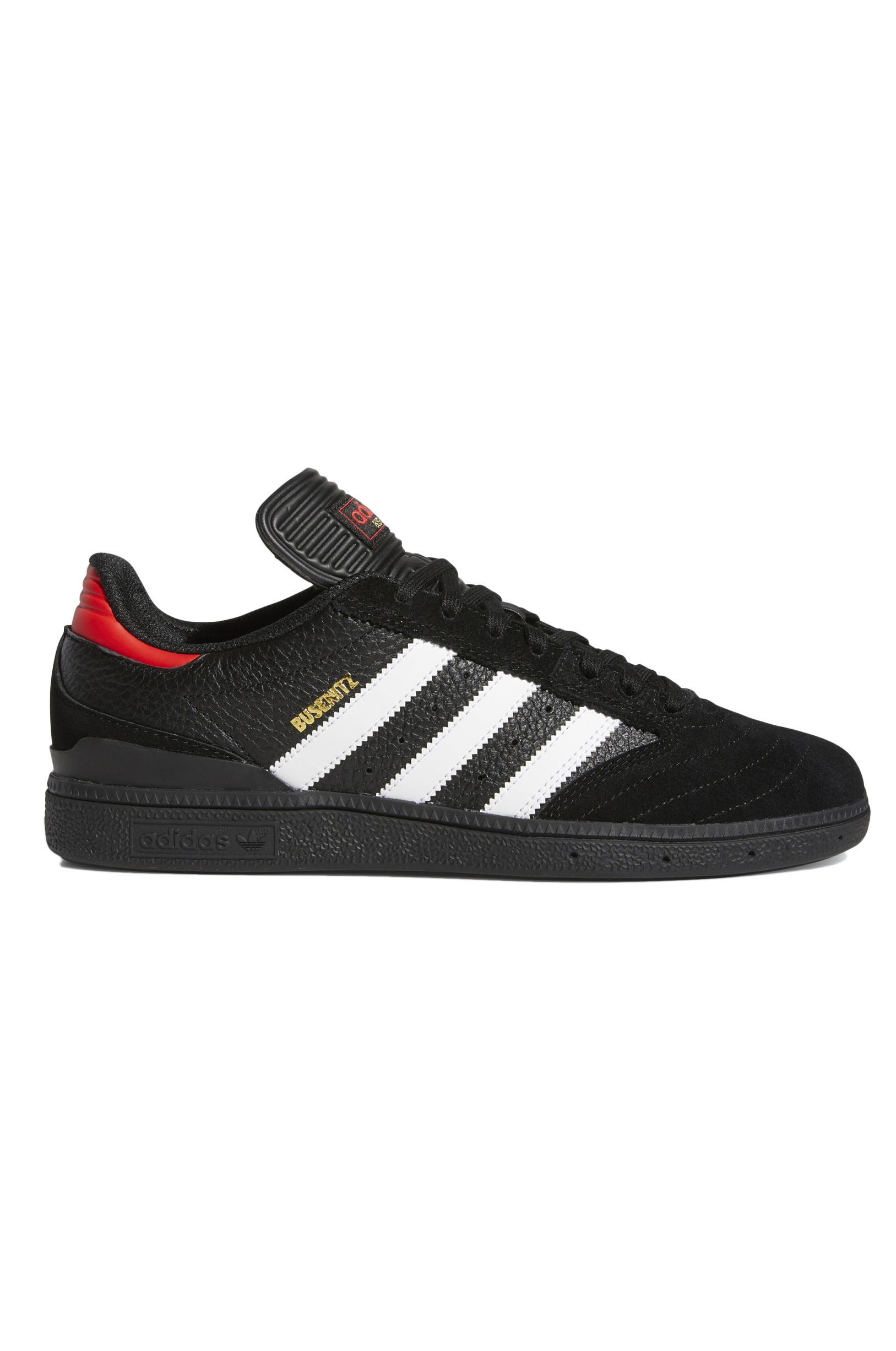 Adidas Shoes BUSENITZ Core Black/Ftwr White/Vivid Red