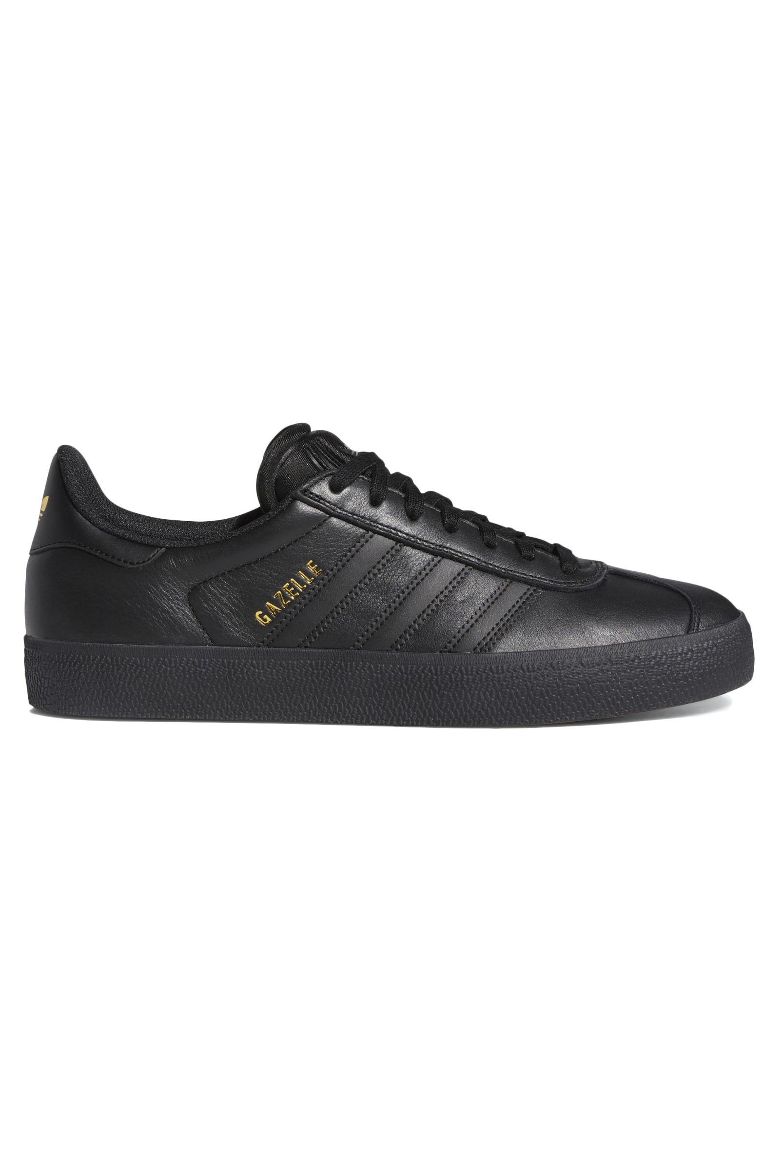 Adidas Shoes GAZELLE ADV Core Black/Core Black/Gold Met.