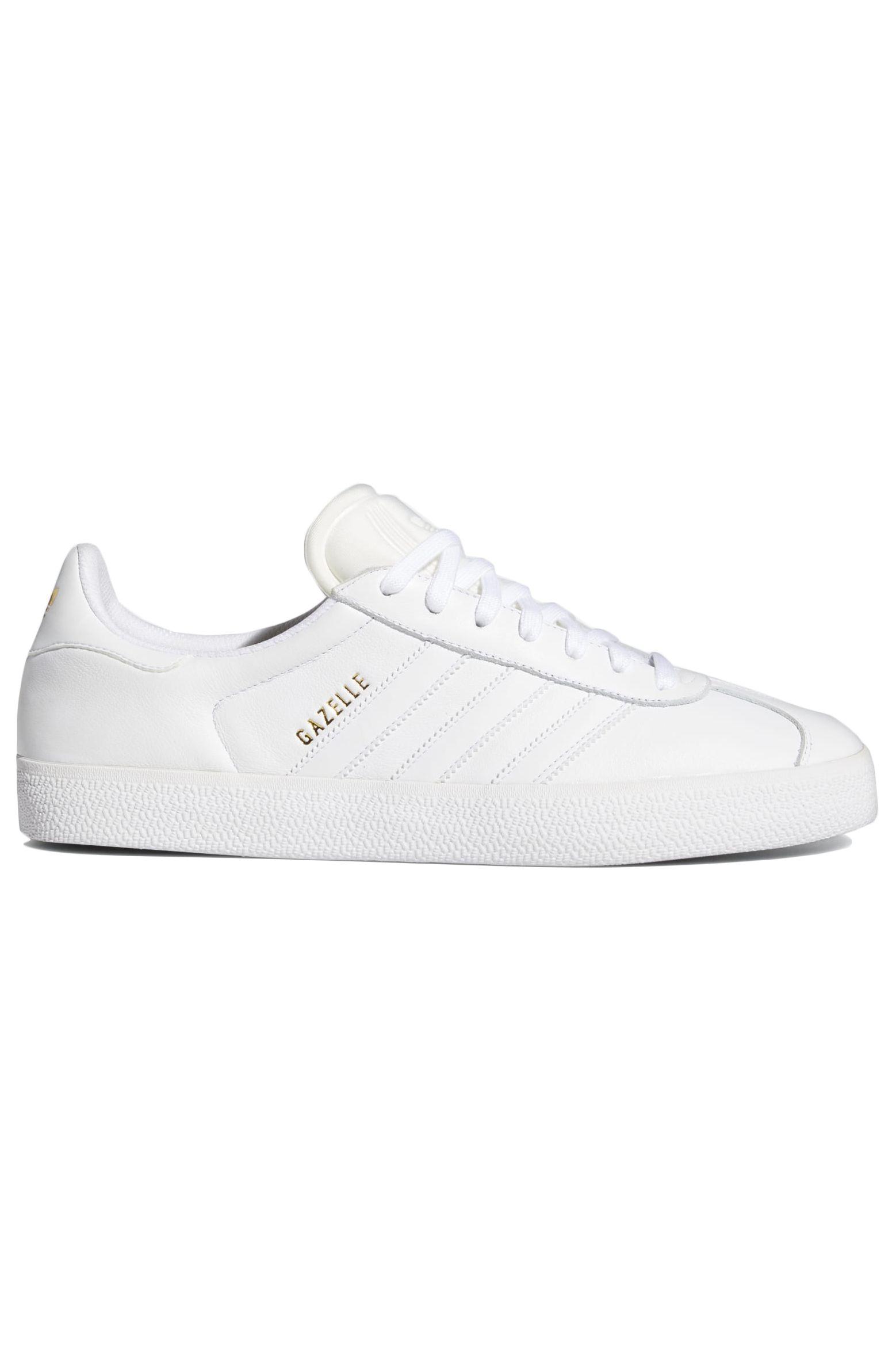 Adidas Shoes GAZELLE ADV Ftwr White/Ftwr White/Gold Met.
