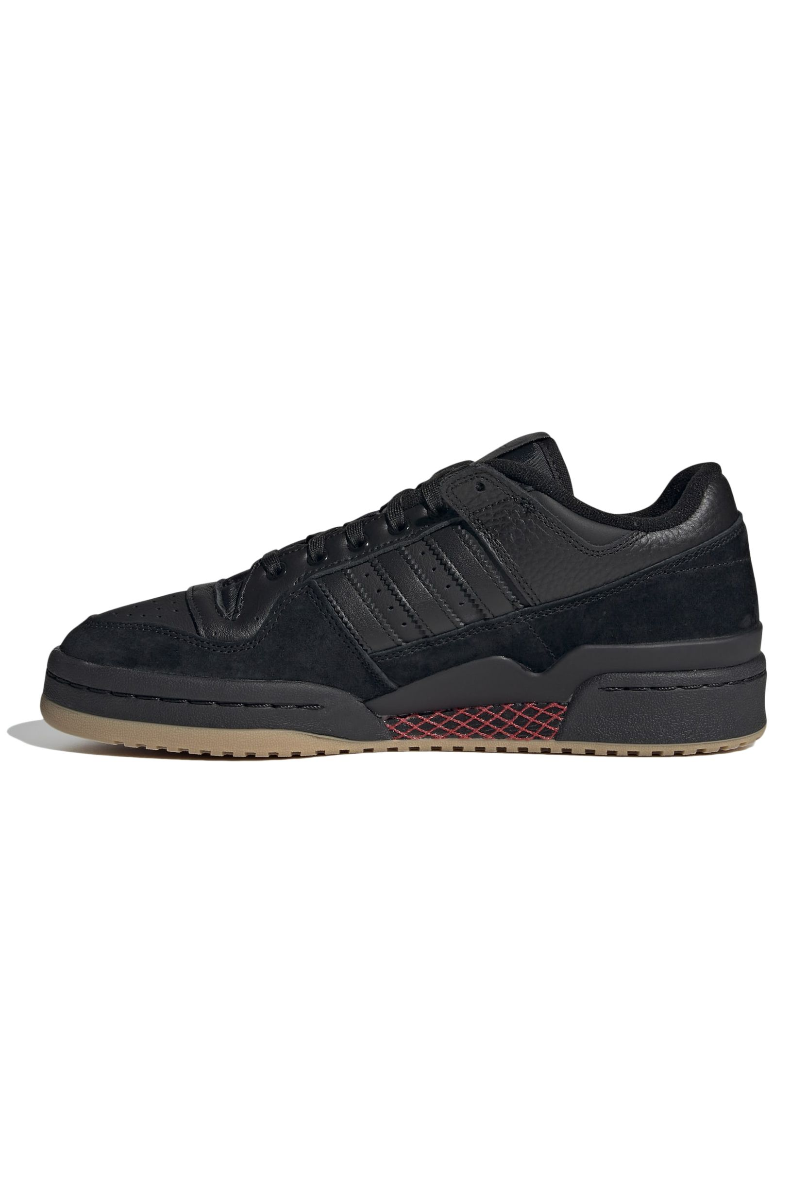 Tenis Adidas FORUM 84 LOW ADV Core Black/Core Black/Vivid Red
