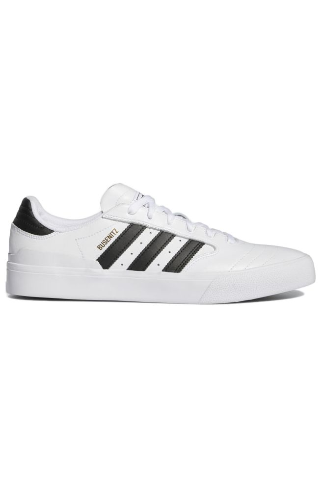 Adidas Shoes BUSENITZ VULC II Ftwr White/Core Black/Gold Met.