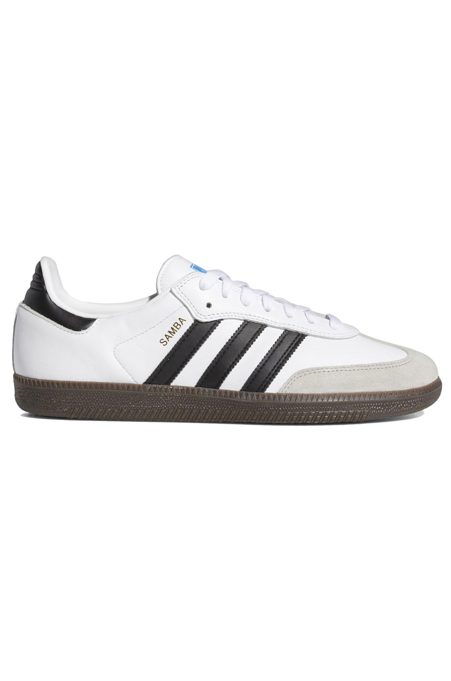Adidas Shoes SAMBA ADV Ftwr White/Core Black/Gum5