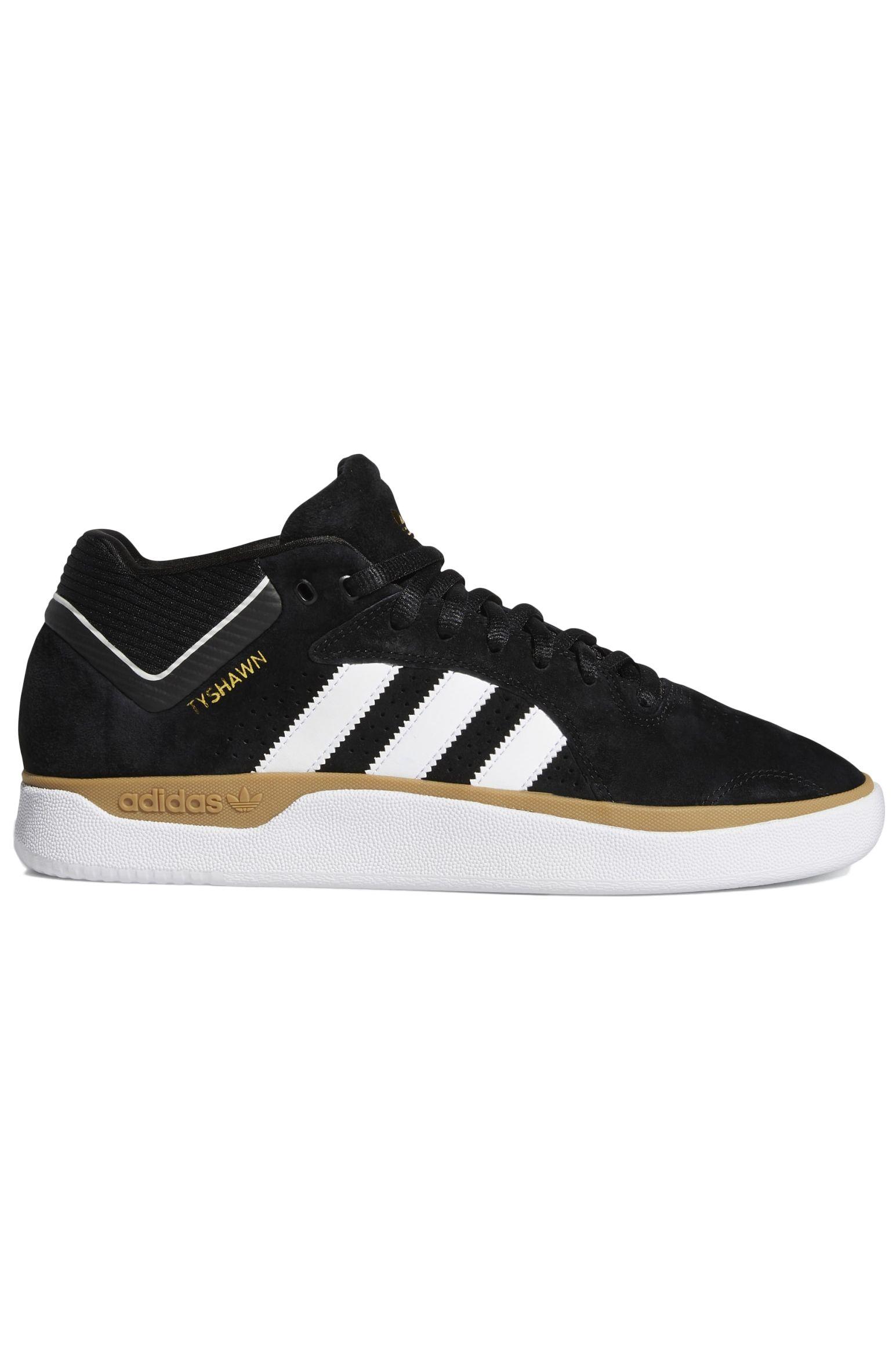 Adidas Shoes TYSHAWN Core Black/Ftwr White/Gum4