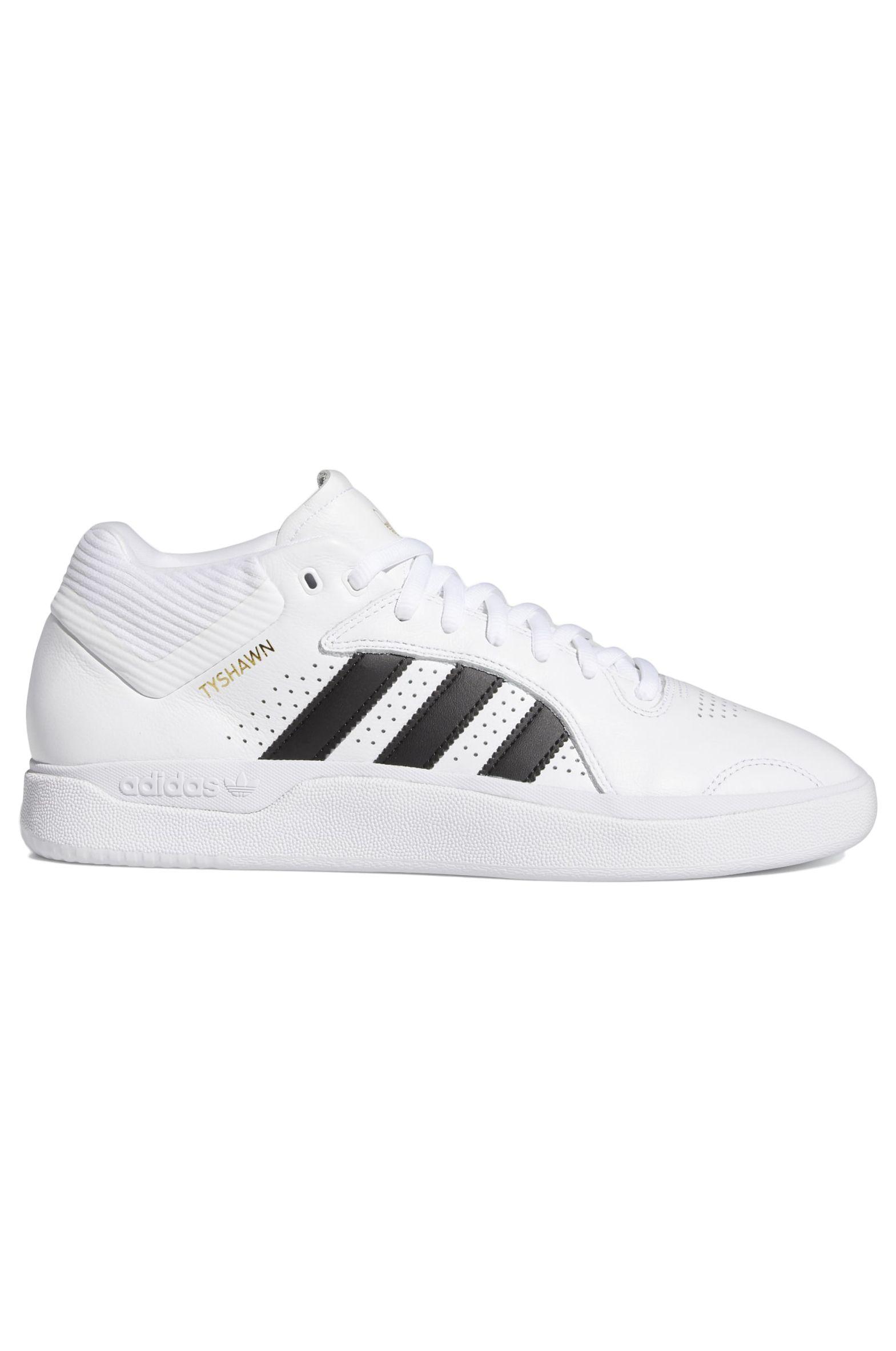 Adidas Shoes TYSHAWN Ftwr White/Core Black/Ftwr White