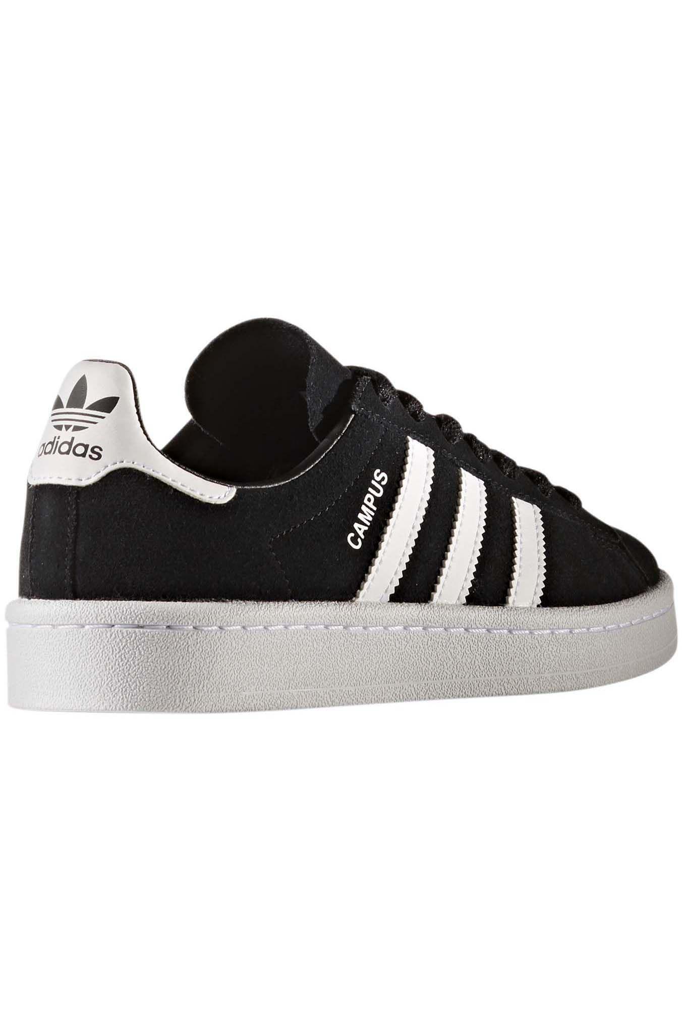 3eb70bfabf4 ... Tenis Adidas CAMPUS J Core Black Ftwr White Ftwr White