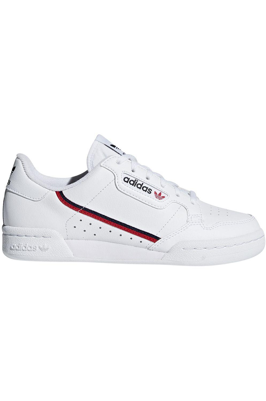 Tenis Adidas CONTINENTAL 80 Ftwr White/Scarlet/Collegiate Navy