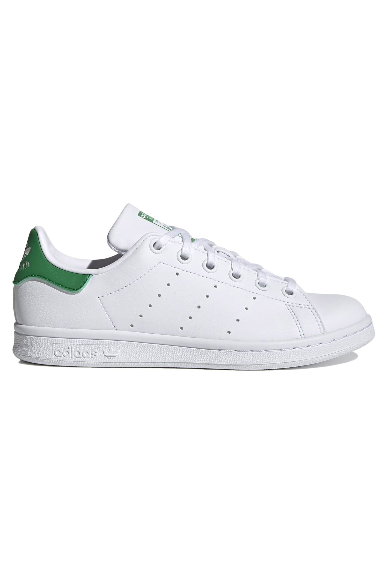 Adidas Shoes STAN SMITH J Ftwr White/Ftwr White/Green