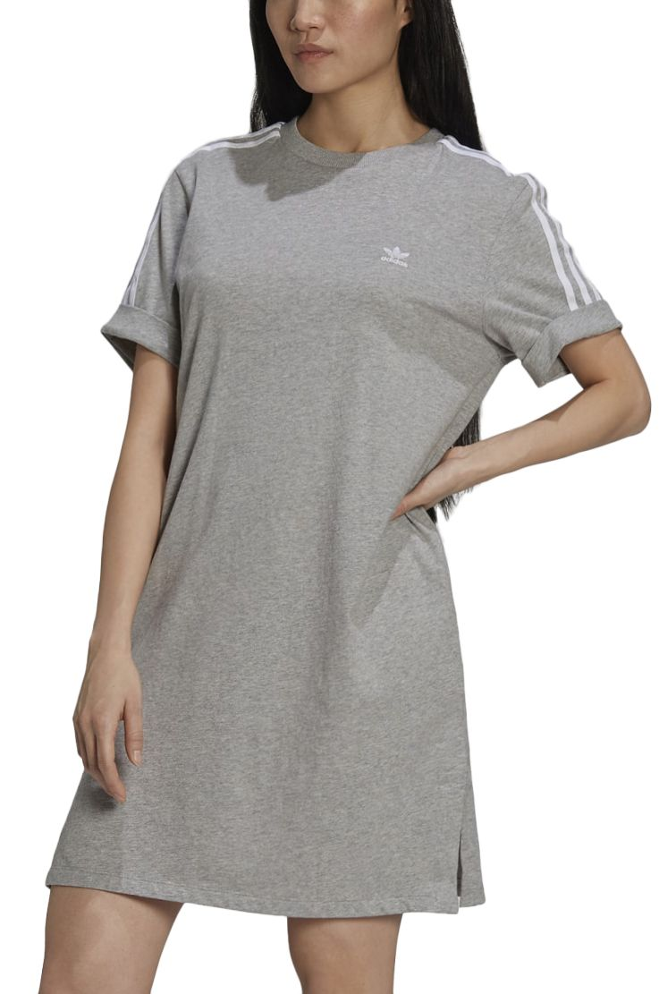 Adidas Dress TEE DRESS Medium Grey Heather