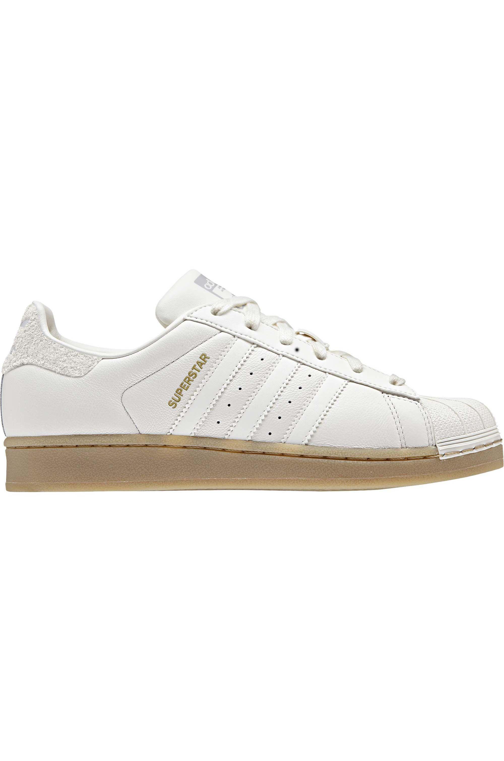 Adidas Shoes SUPERSTAR W Cloud WhiteCloud WhiteGum4