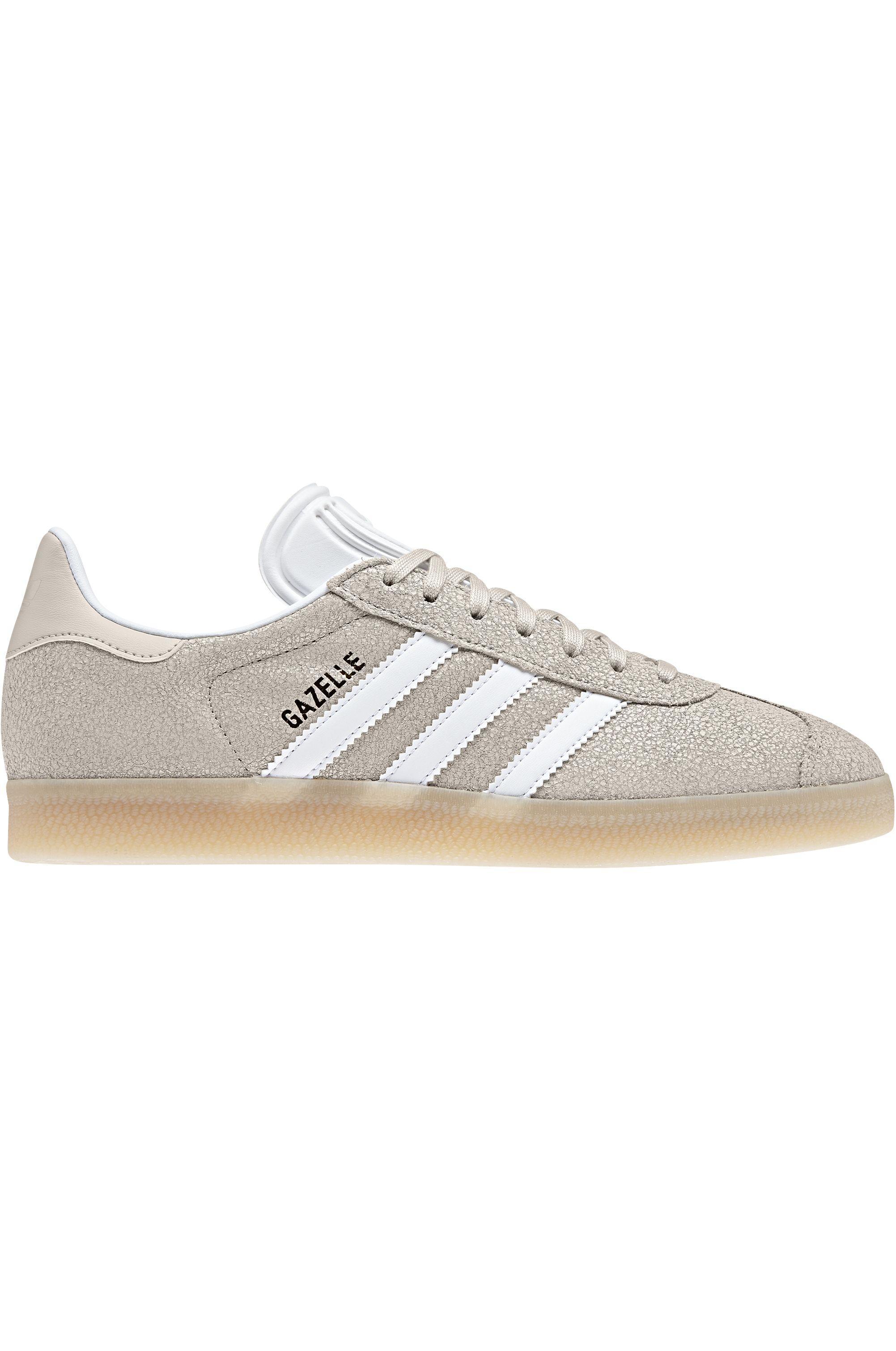 Tenis Adidas GAZELLE Clear BrownFtwr WhiteEcru Tint S18