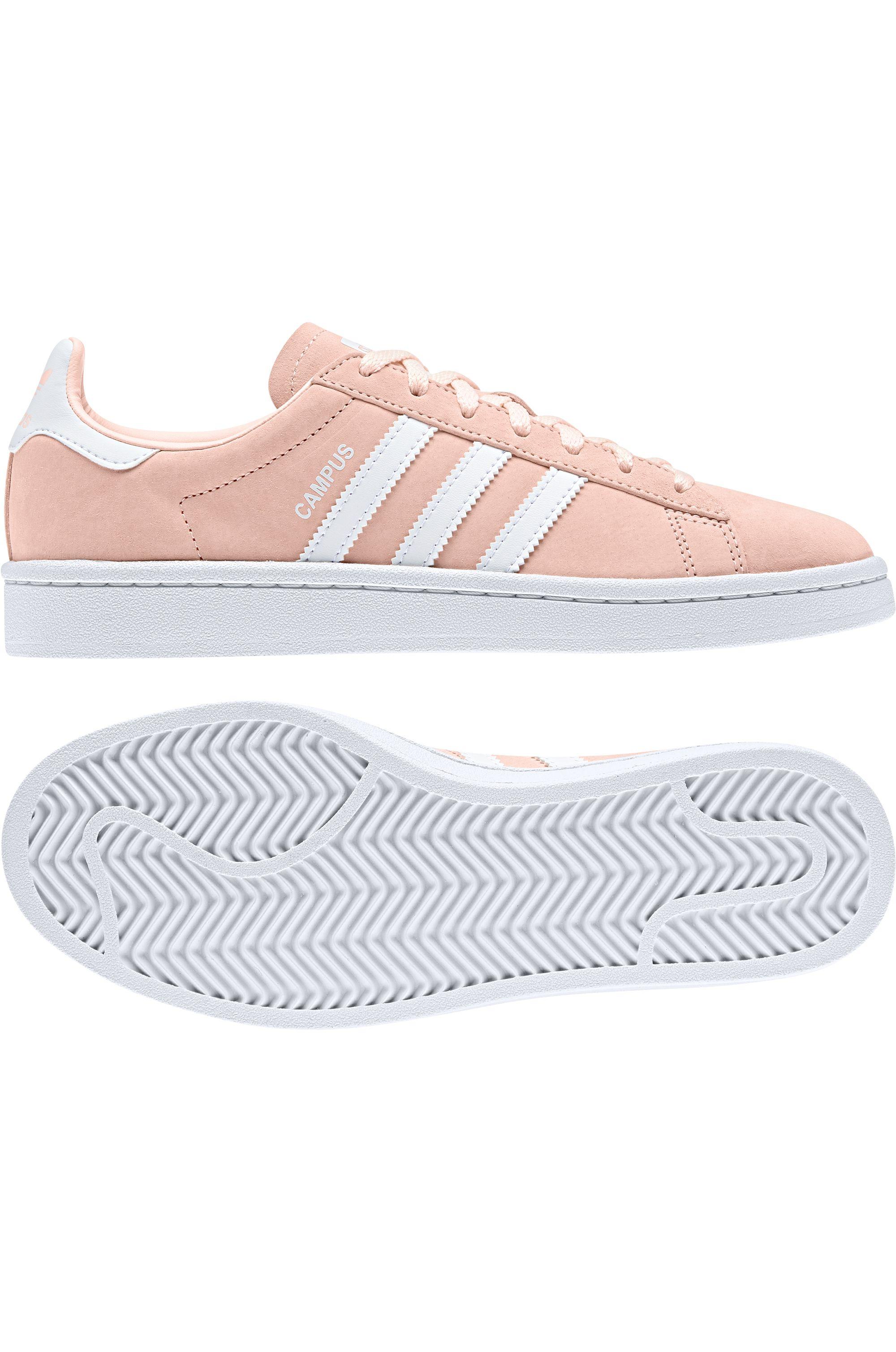 Tenis Adidas CAMPUS Clear Orange/Ftwr White/Crystal White