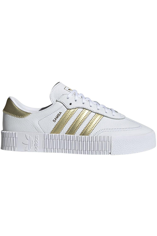 Tenis Adidas SAMBAROSE Ftwr White/Gold Met./Ftwr White