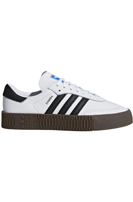 Tenis Adidas SAMBAROSE Ftwr White/Core Black/Gum5