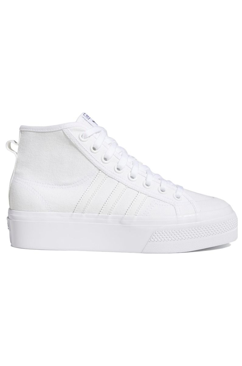 Adidas Shoes NIZZA PLATFORM MID W Ftwr White/Ftwr White/Ftwr White
