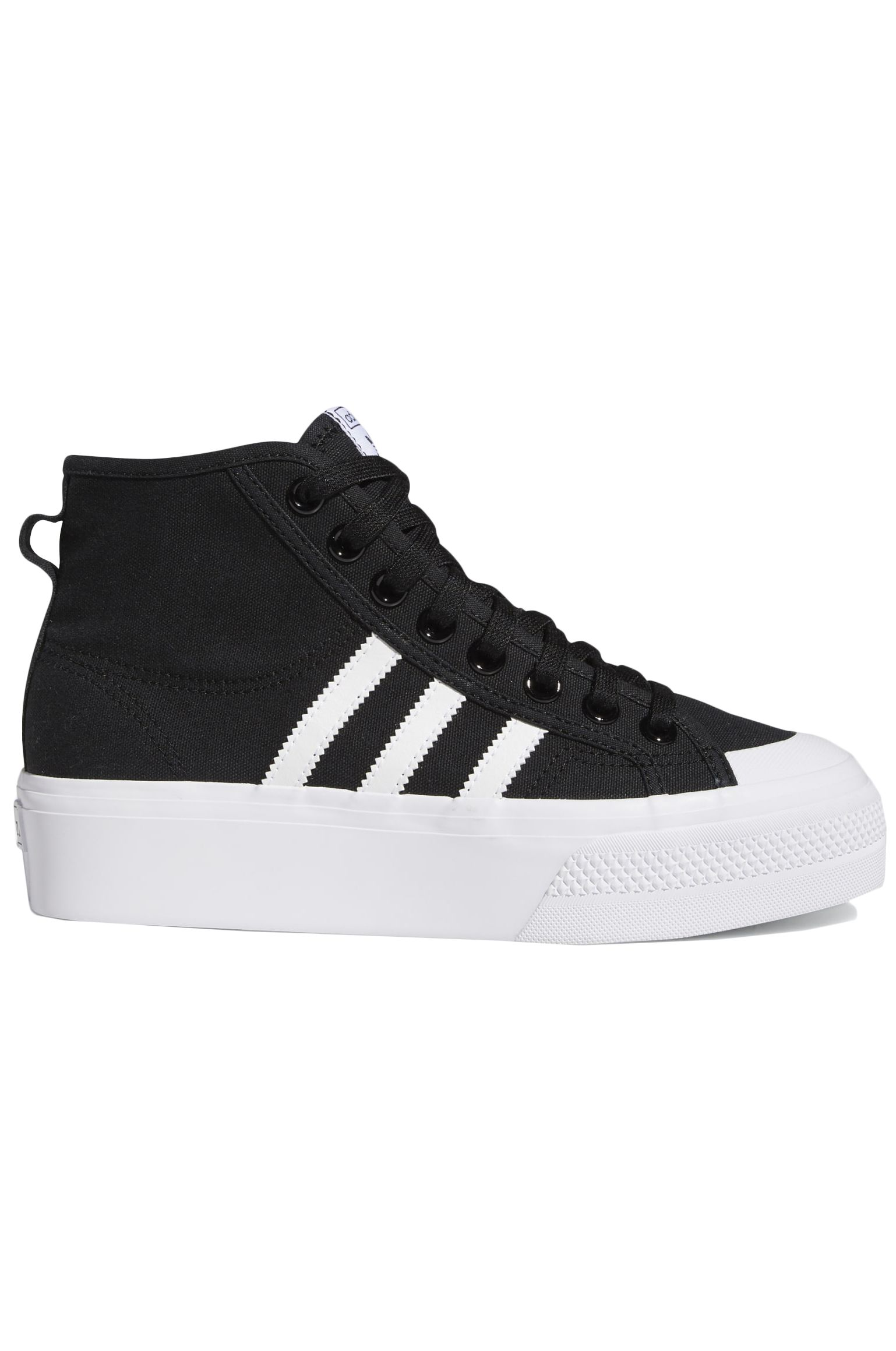 Tenis Adidas NIZZA PLATFORM MID W Core Black/Ftwr White/Ftwr White