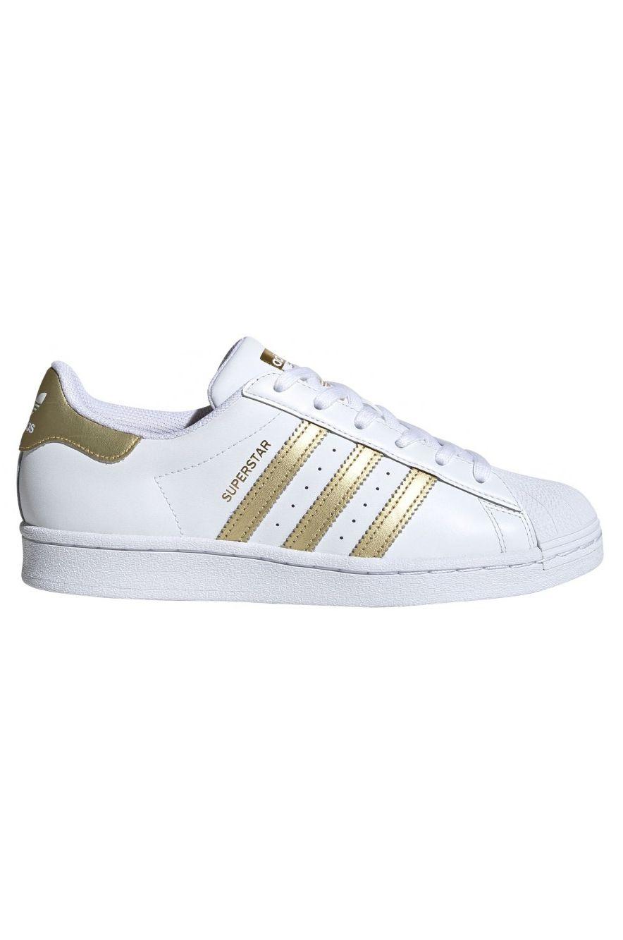 Adidas Shoes SUPERSTAR W Ftwr White/Gold Met./Ftwr White