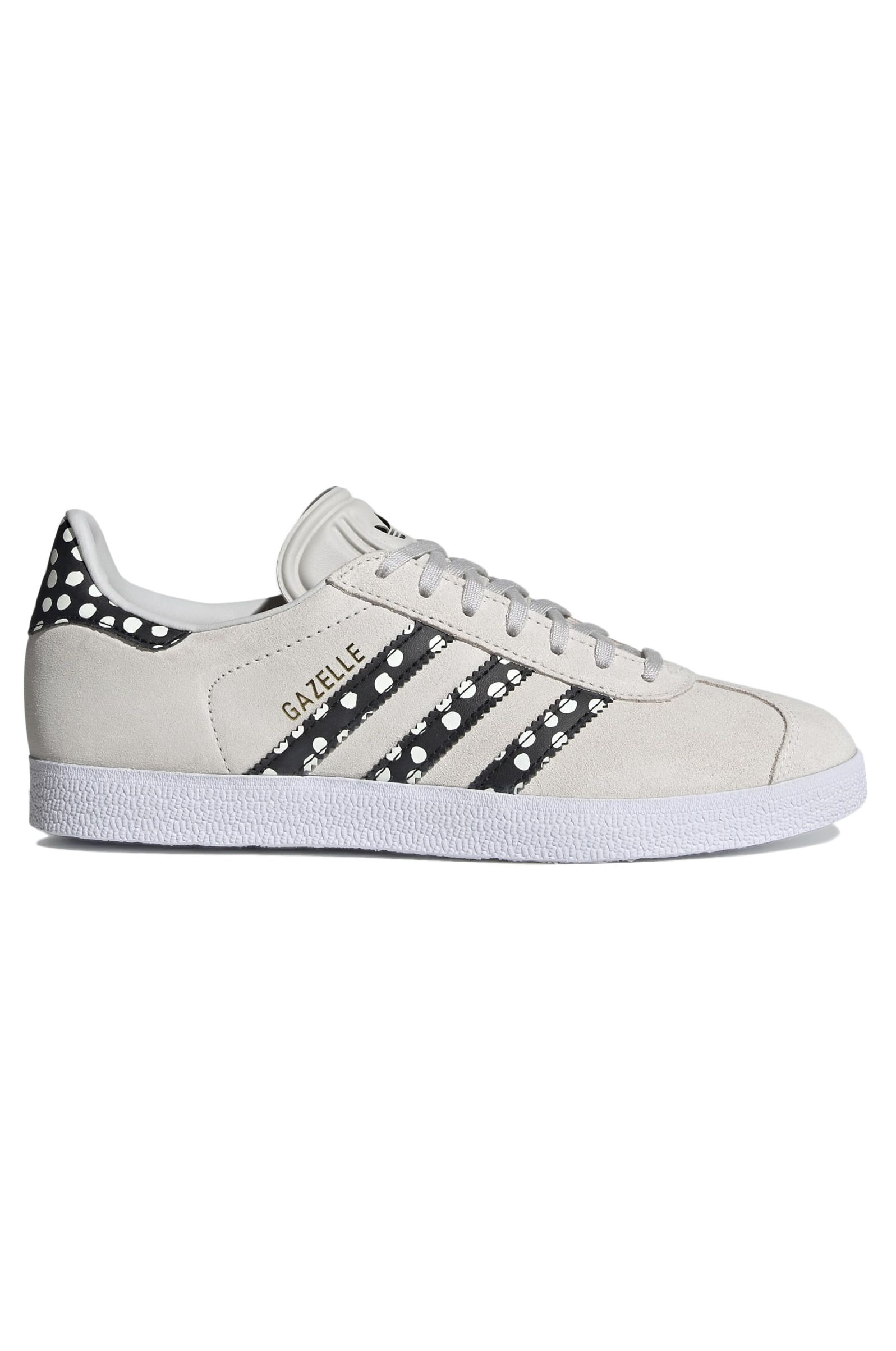 Adidas Shoes GAZELLE W Grey One/Core Black/Gold Met.