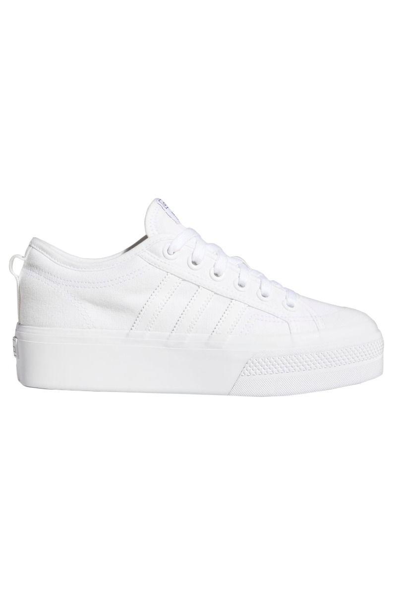 Adidas Shoes NIZZA PLATFORM W Ftwr White/Ftwr White/Ftwr White