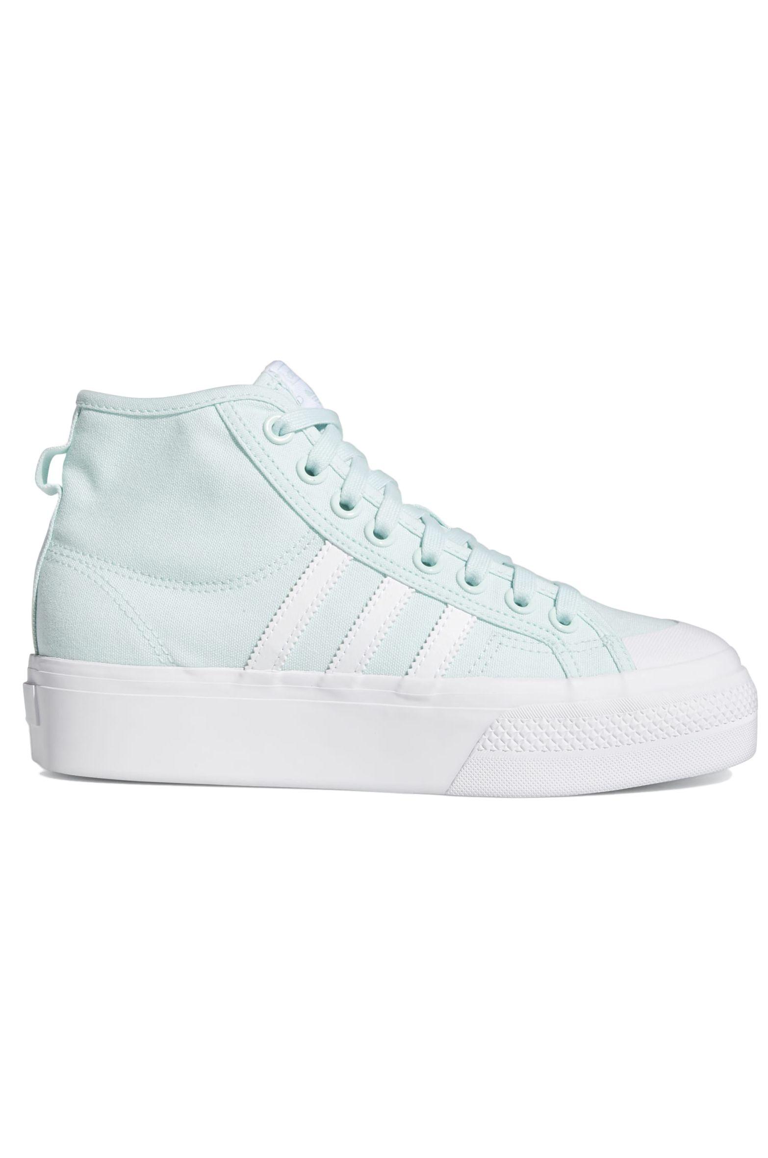 Adidas Shoes NIZZA PLATFORM MID W Halomint