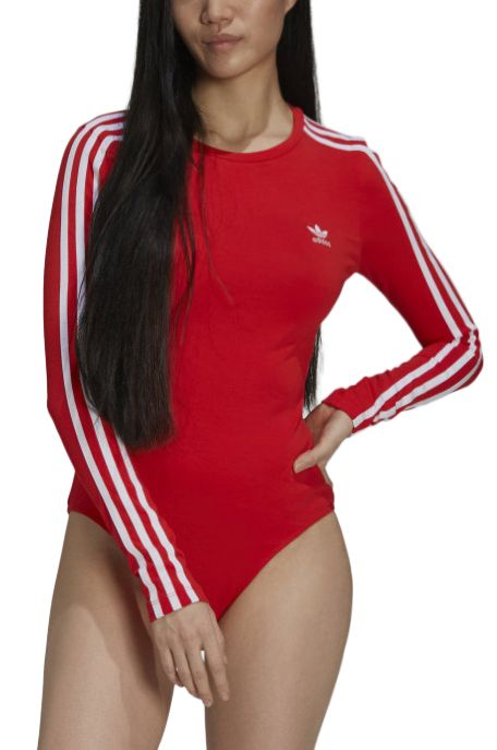 Adidas Top BODY SUIT Red