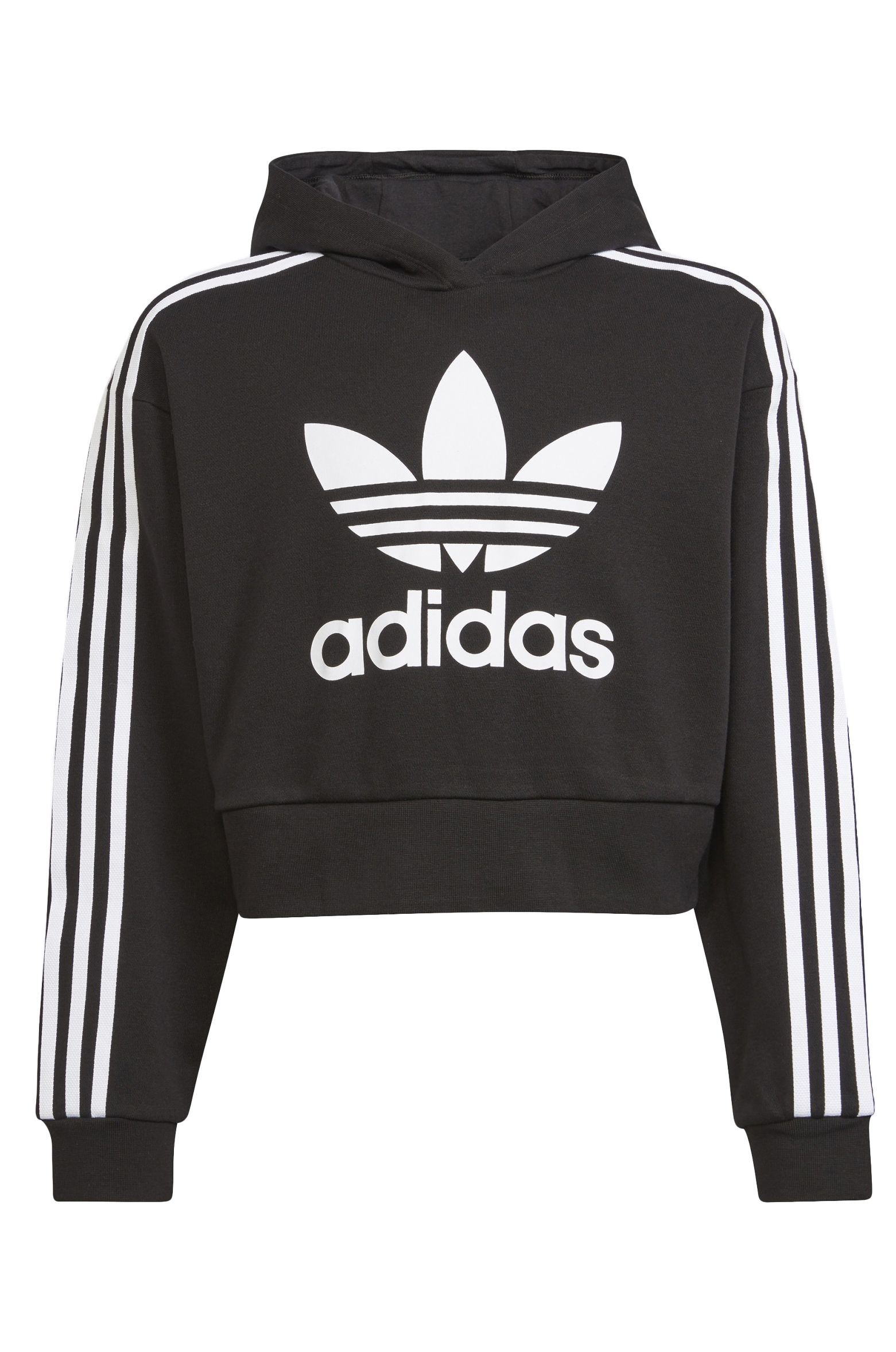 Adidas Sweat Hood CROPPED HOODIE Black