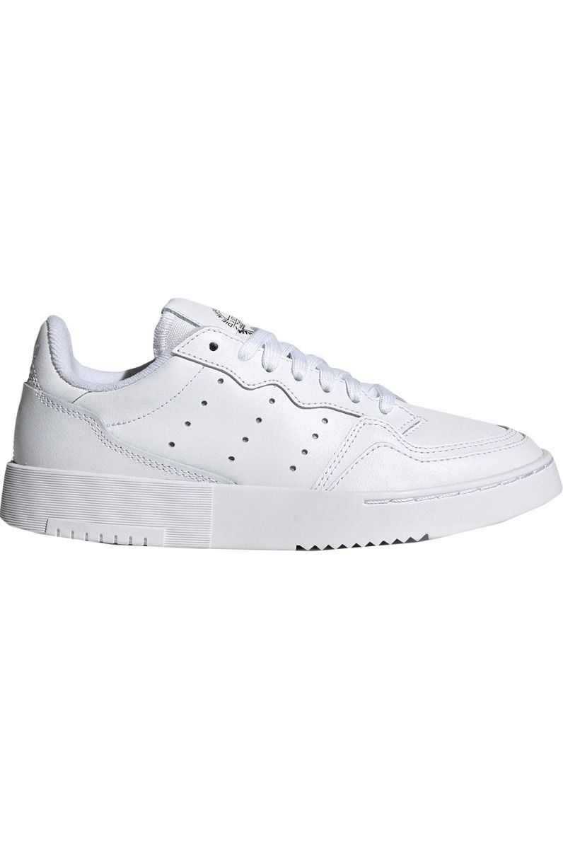 Adidas Shoes SUPERCOURT J Ftwr White/Ftwr White/Core Black